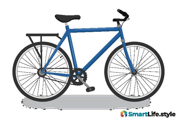 Vektorgrafik E-Bike Cross