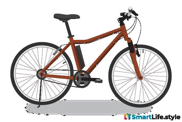 Vektorgrafik E-Bike Jugend